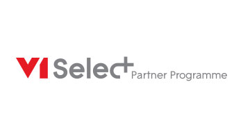 V1 select partnership logo
